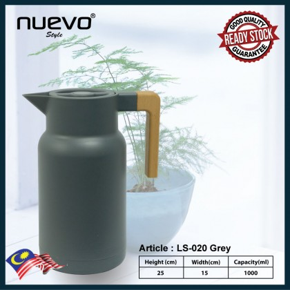 LS-020 VACUUM JUG FLASK WITH PUSH BUTTON POURAGE